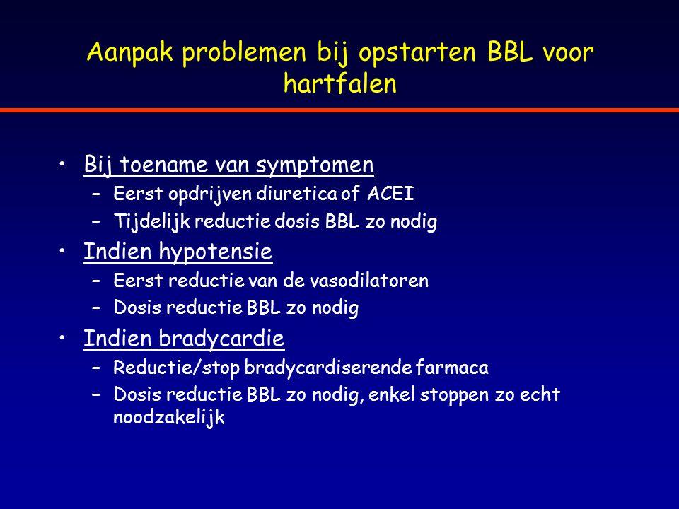 Aanpak problemen bij opstarten BBL voor hartfalen