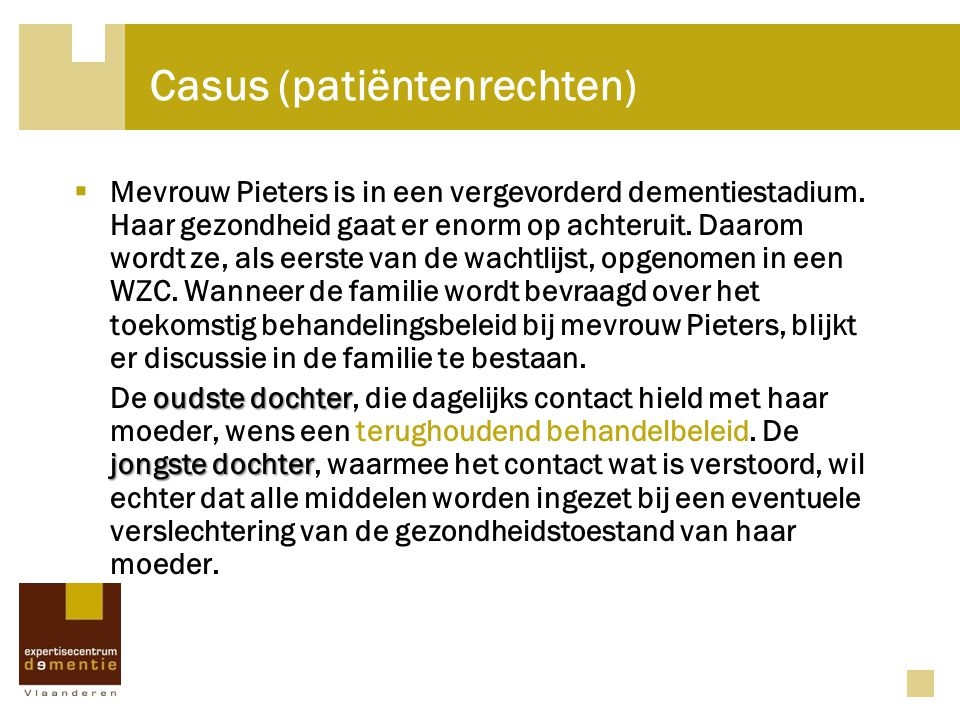 Casus (patiëntenrechten)
