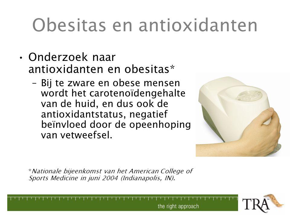 Obesitas en antioxidanten