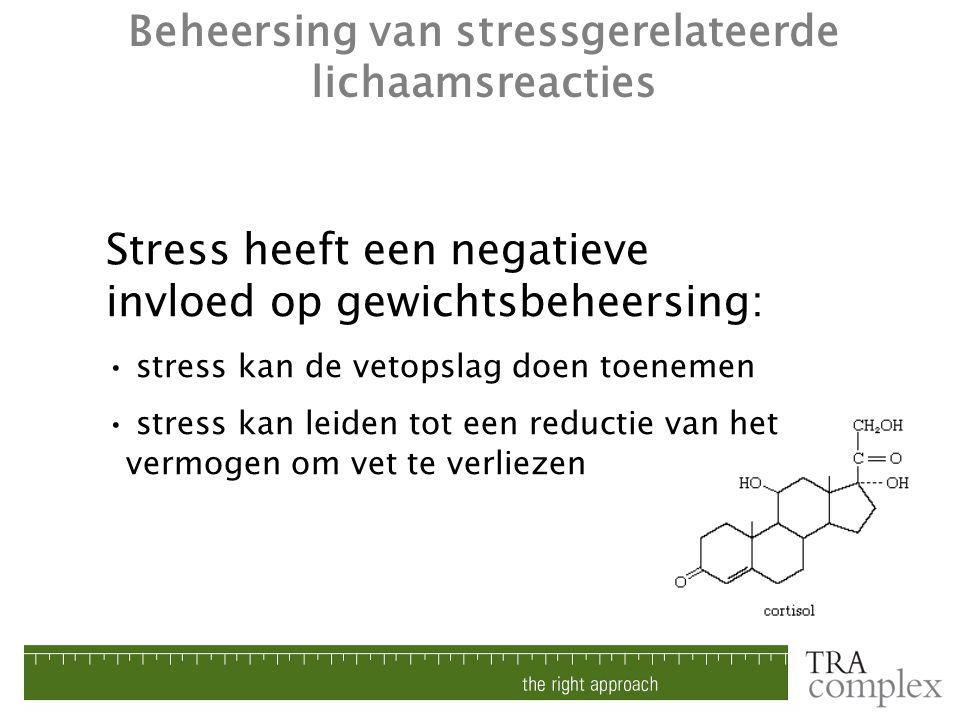 Beheersing van stressgerelateerde lichaamsreacties