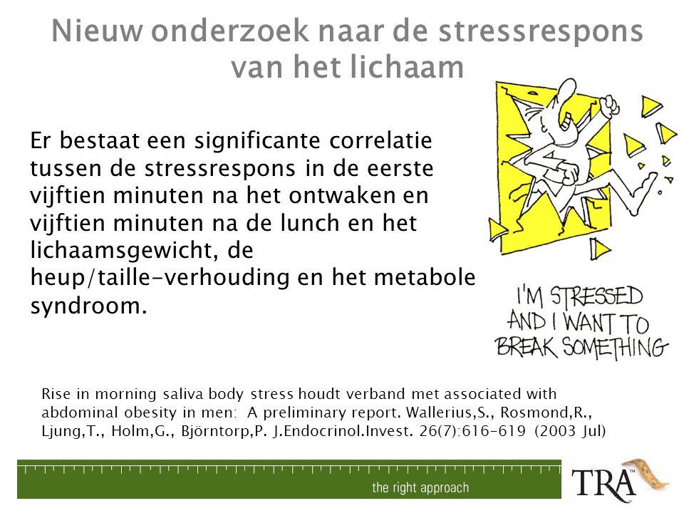 Nieuw onderzoek naar de stressrespons van het lichaam
