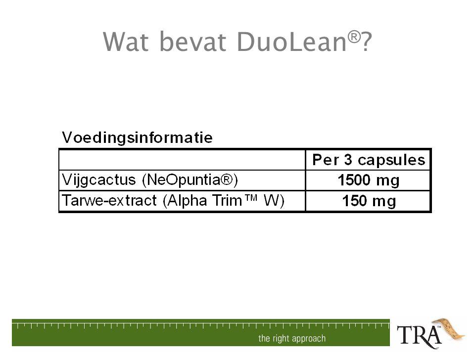 Wat bevat DuoLean®