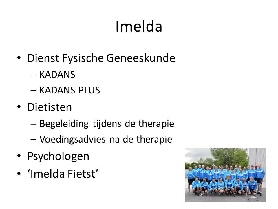 Imelda Dienst Fysische Geneeskunde Dietisten Psychologen