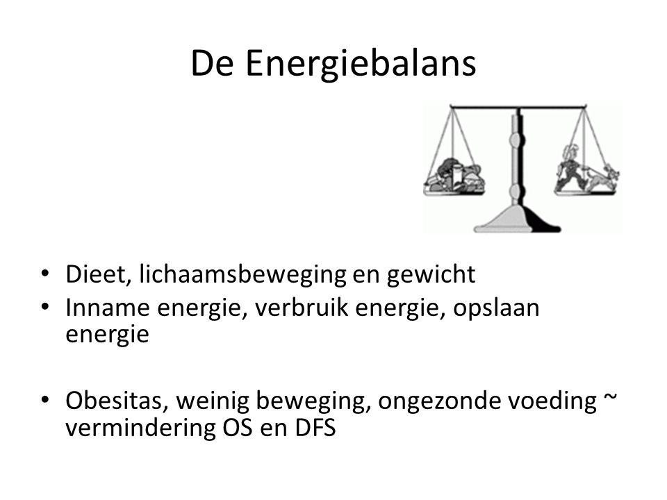 De Energiebalans Dieet, lichaamsbeweging en gewicht