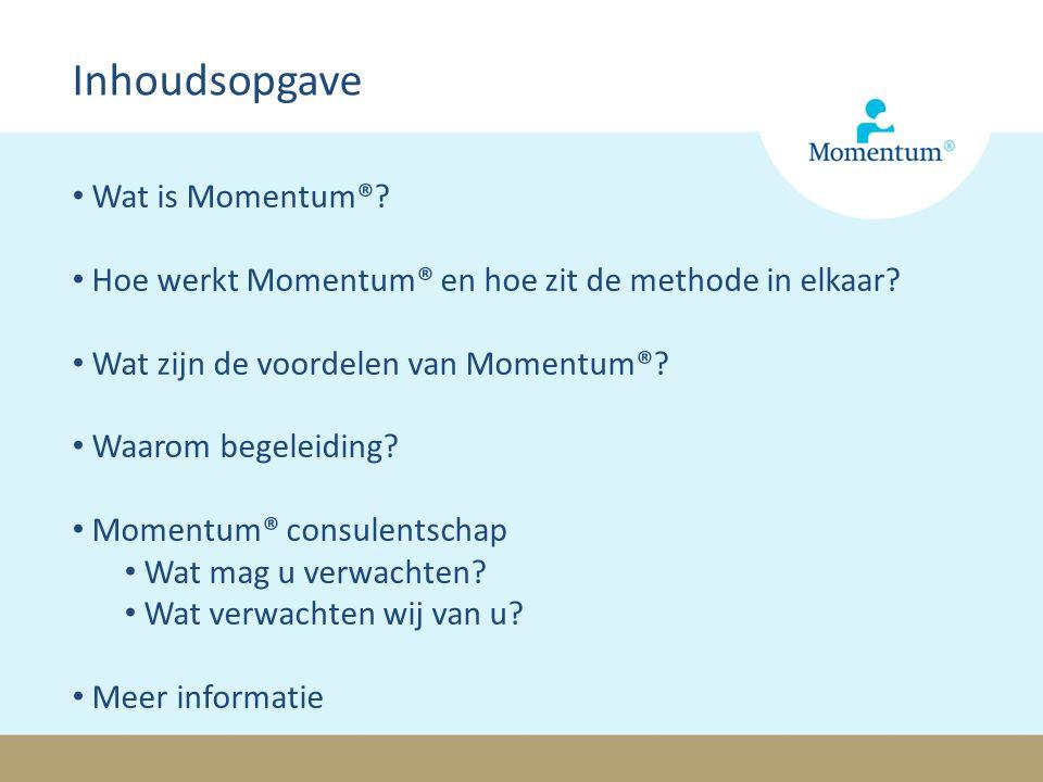 Inhoudsopgave Wat is Momentum®