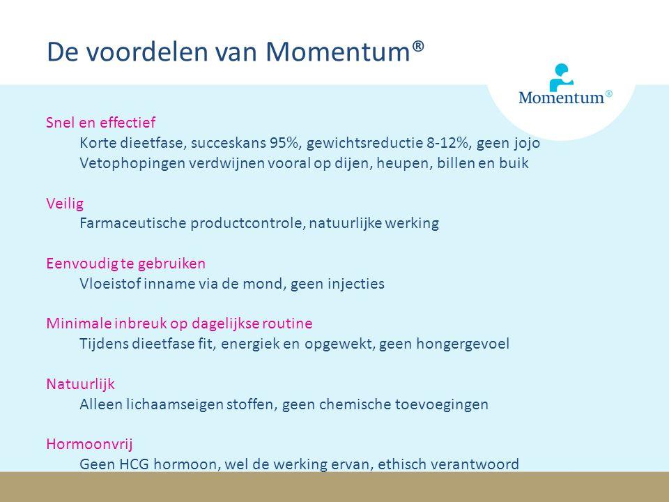 De voordelen van Momentum®