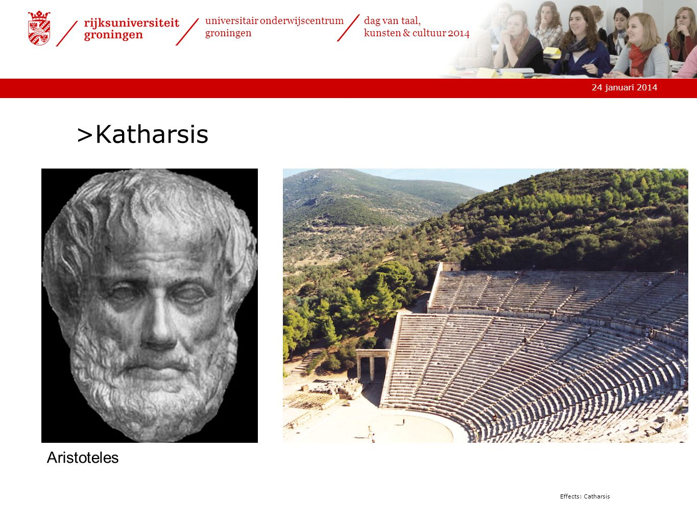 Katharsis Aristoteles Effects: Catharsis