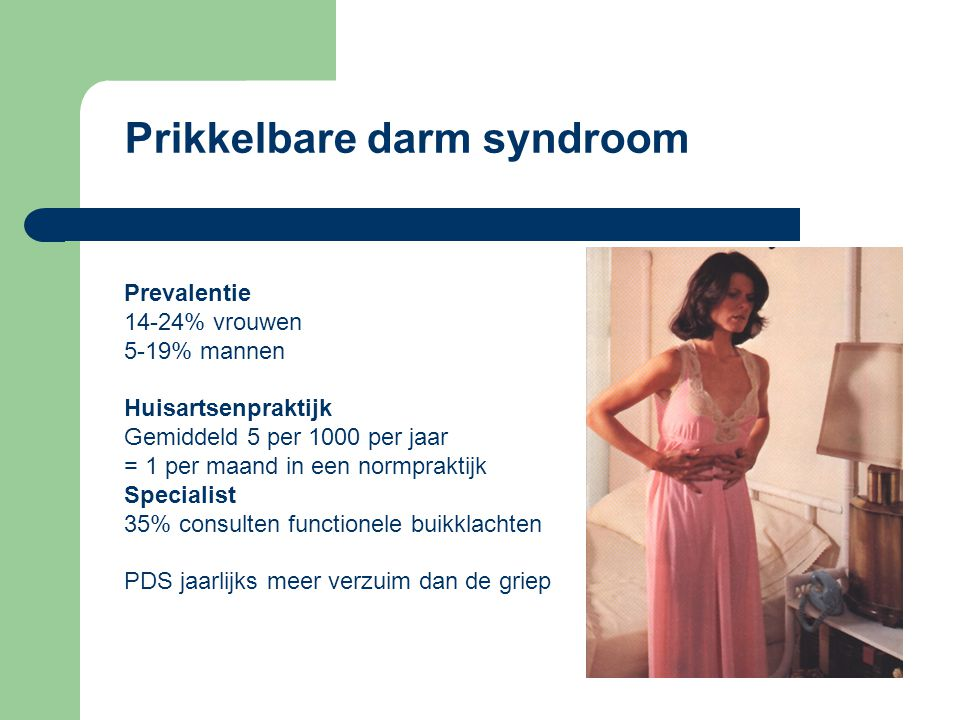 prikkelbare darm syndroom medicatie