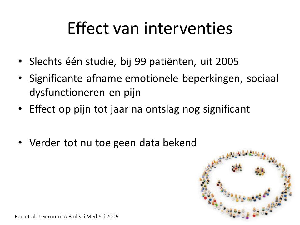 Effect van interventies