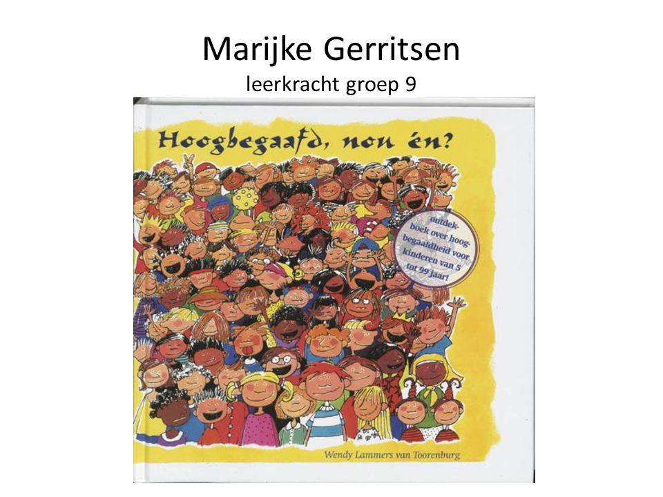 Marijke Gerritsen leerkracht groep 9
