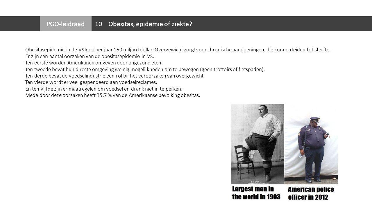 Obesitas, epidemie of ziekte