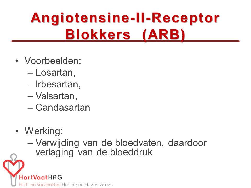 Angiotensine-II-Receptor Blokkers (ARB)