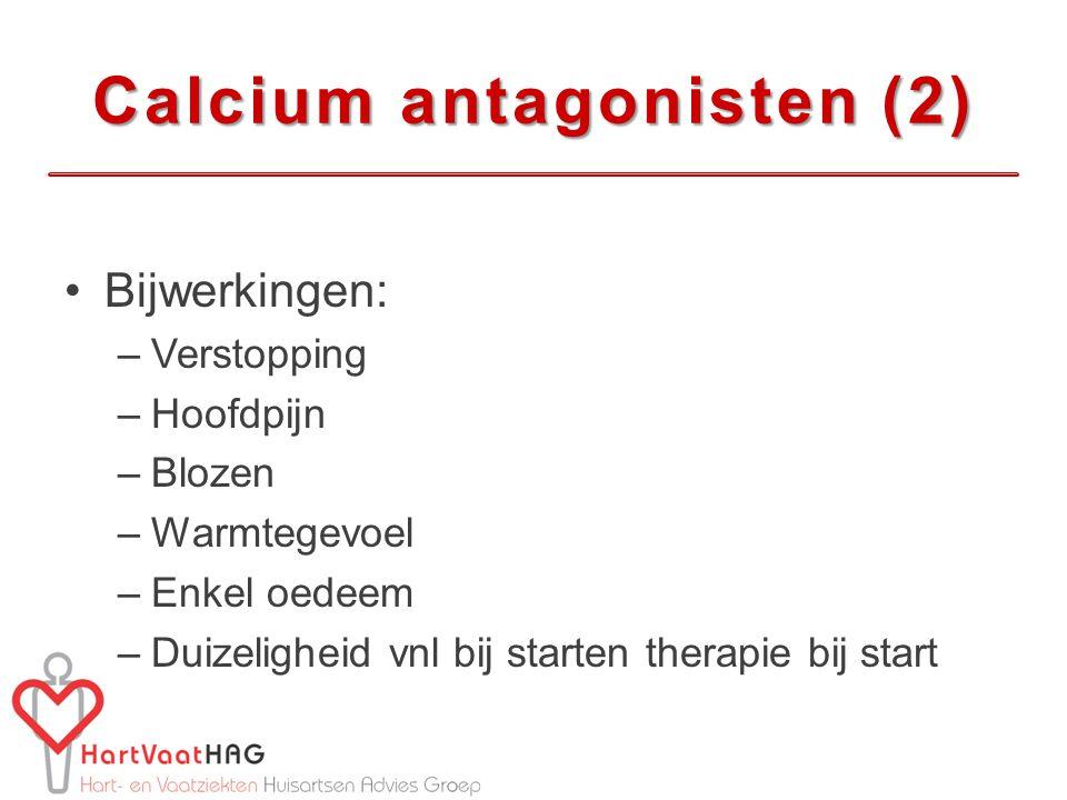 Calcium antagonisten (2)