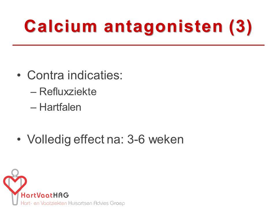 Calcium antagonisten (3)