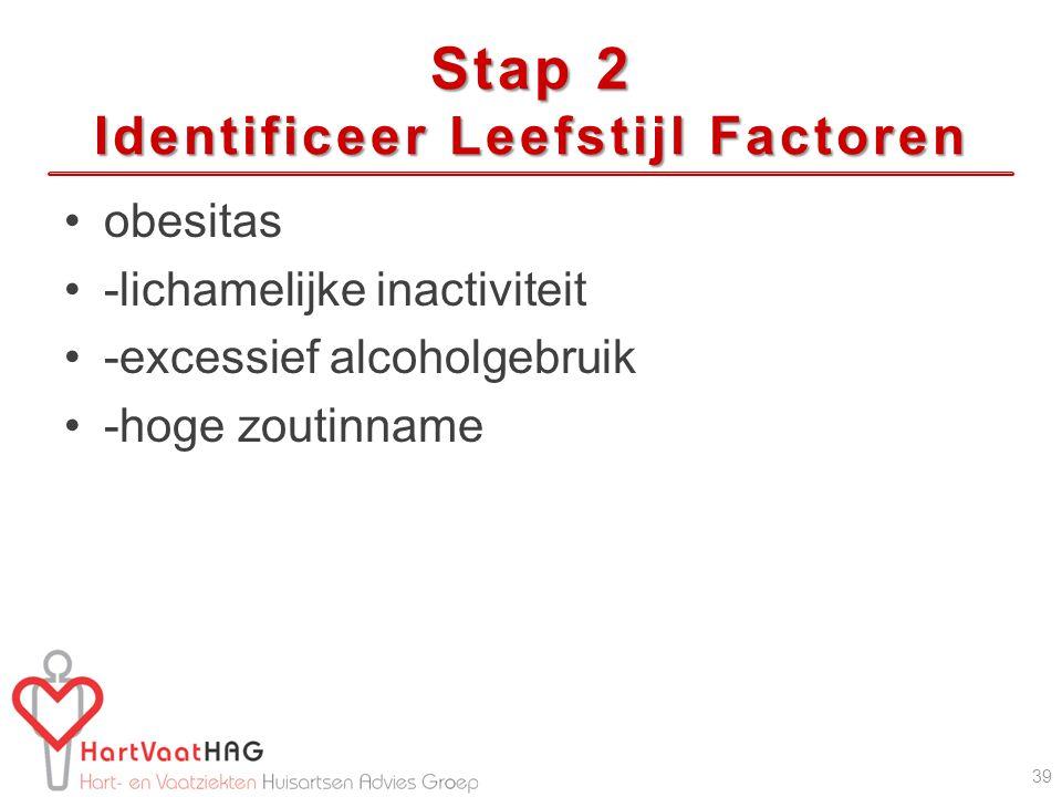Stap 2 Identificeer Leefstijl Factoren