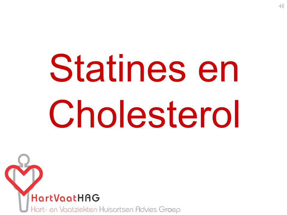 Statines en Cholesterol