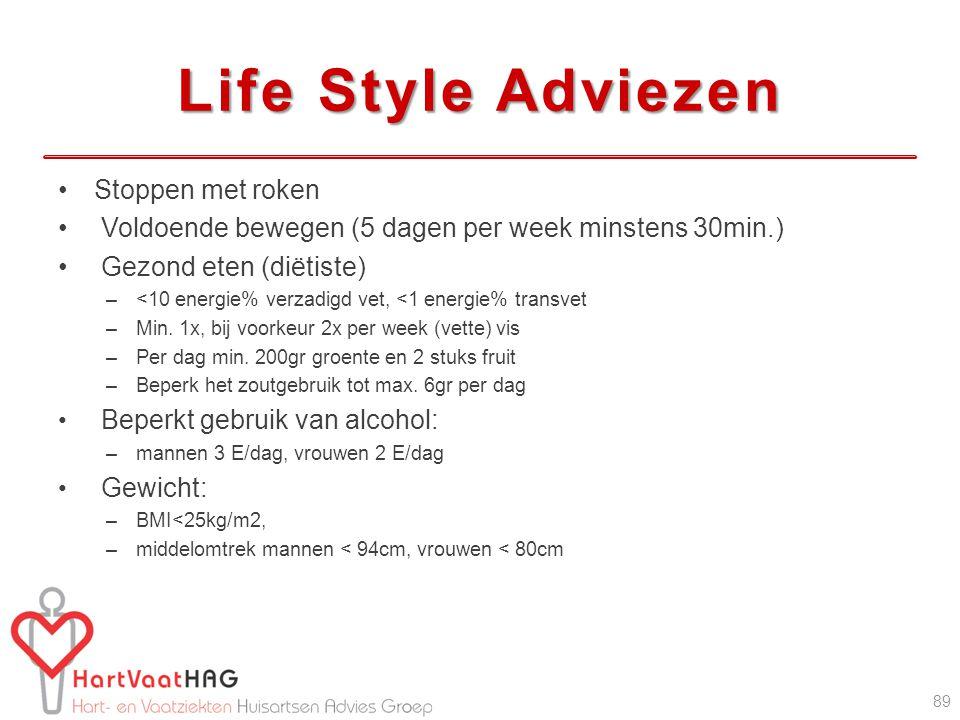 Life Style Adviezen Stoppen met roken