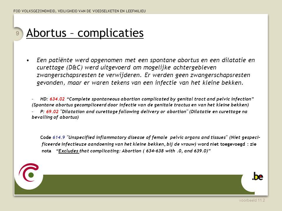 Abortus – complicaties
