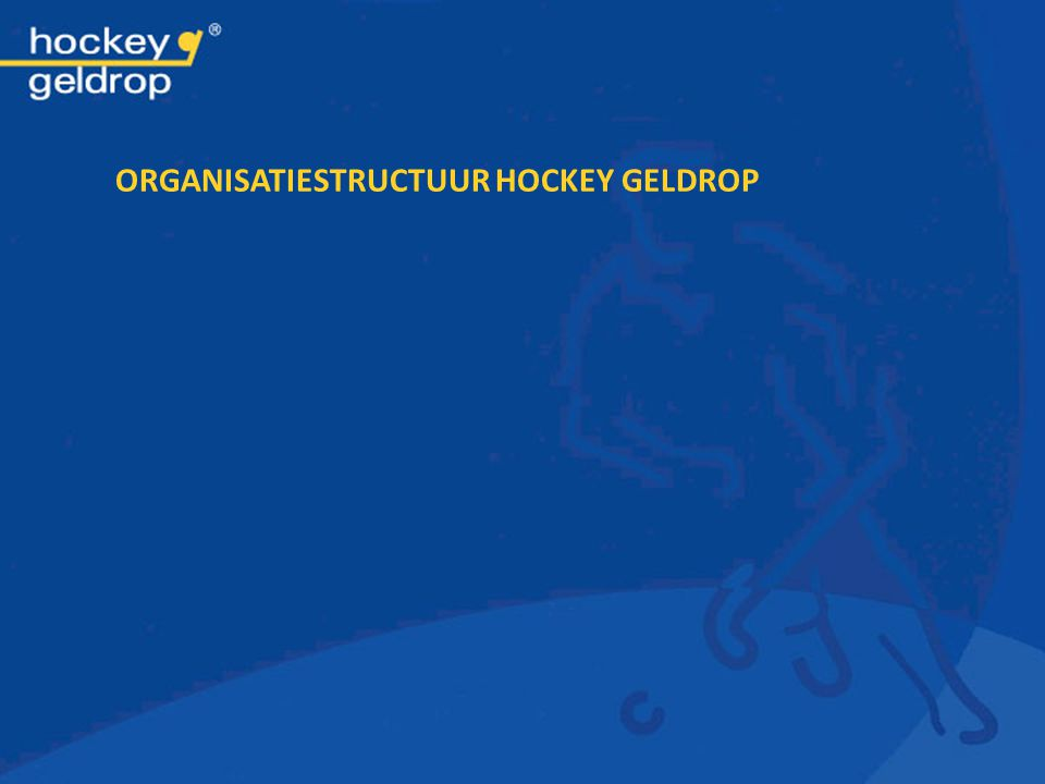 Organisatiestructuur Hockey Geldrop