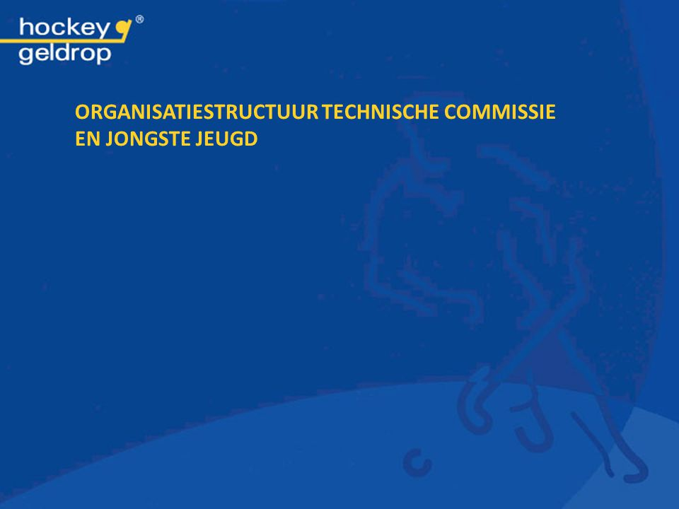 Organisatiestructuur Technische Commissie