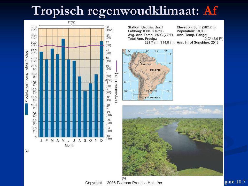 Tropisch regenwoudklimaat: Af