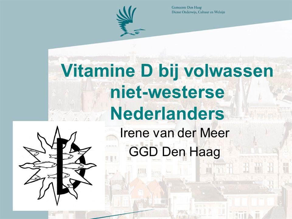 Vitamine D bij volwassen niet-westerse Nederlanders