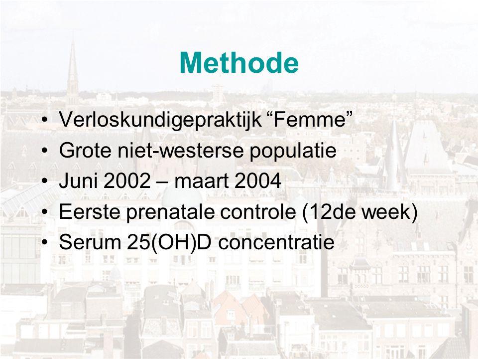Methode Verloskundigepraktijk Femme Grote niet-westerse populatie