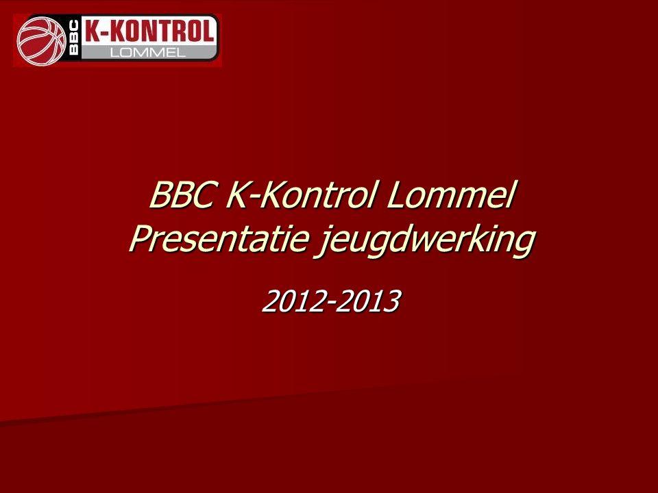 BBC K-Kontrol Lommel Presentatie jeugdwerking