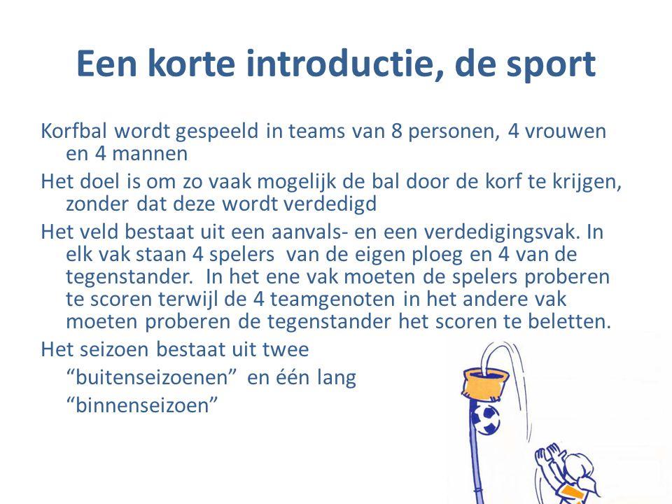 Een korte introductie, de sport