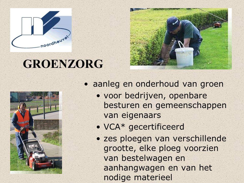 GROENZORG aanleg en onderhoud van groen