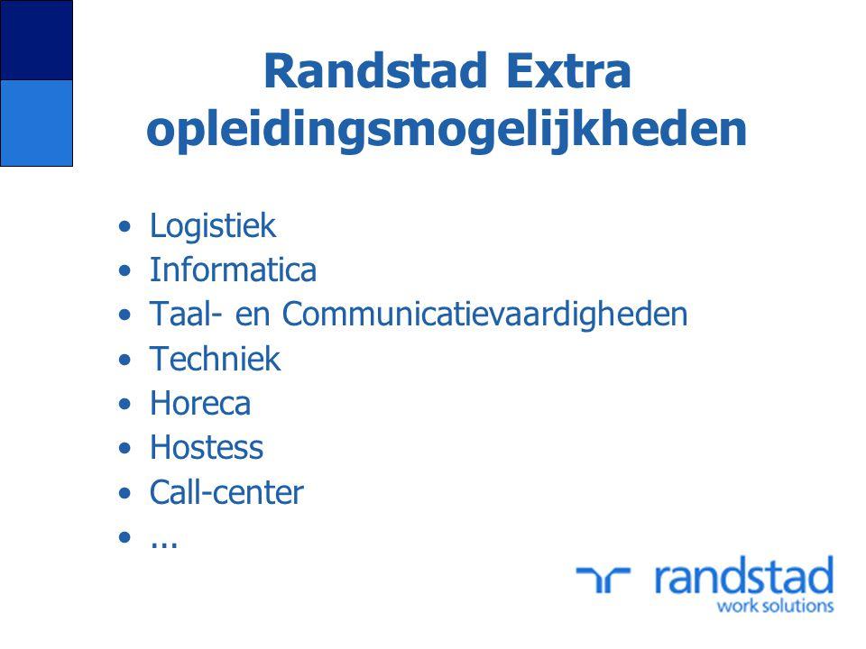 Randstad Extra opleidingsmogelijkheden