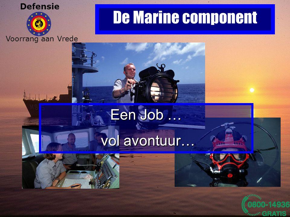De Marine component Een Job … vol avontuur… Een Job … vol avontuur…