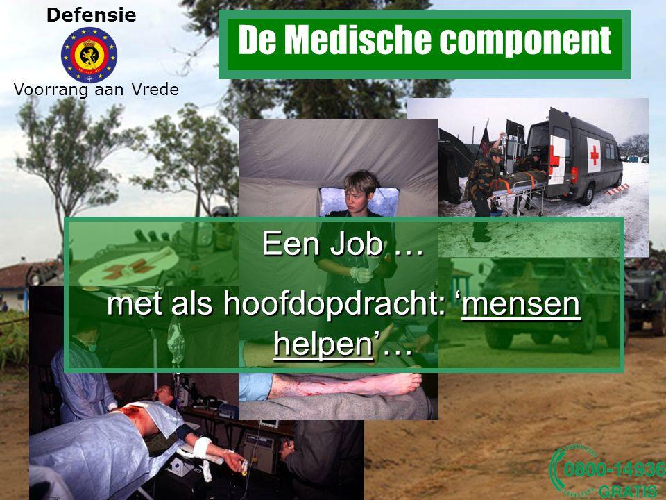 De Medische component Een Job …