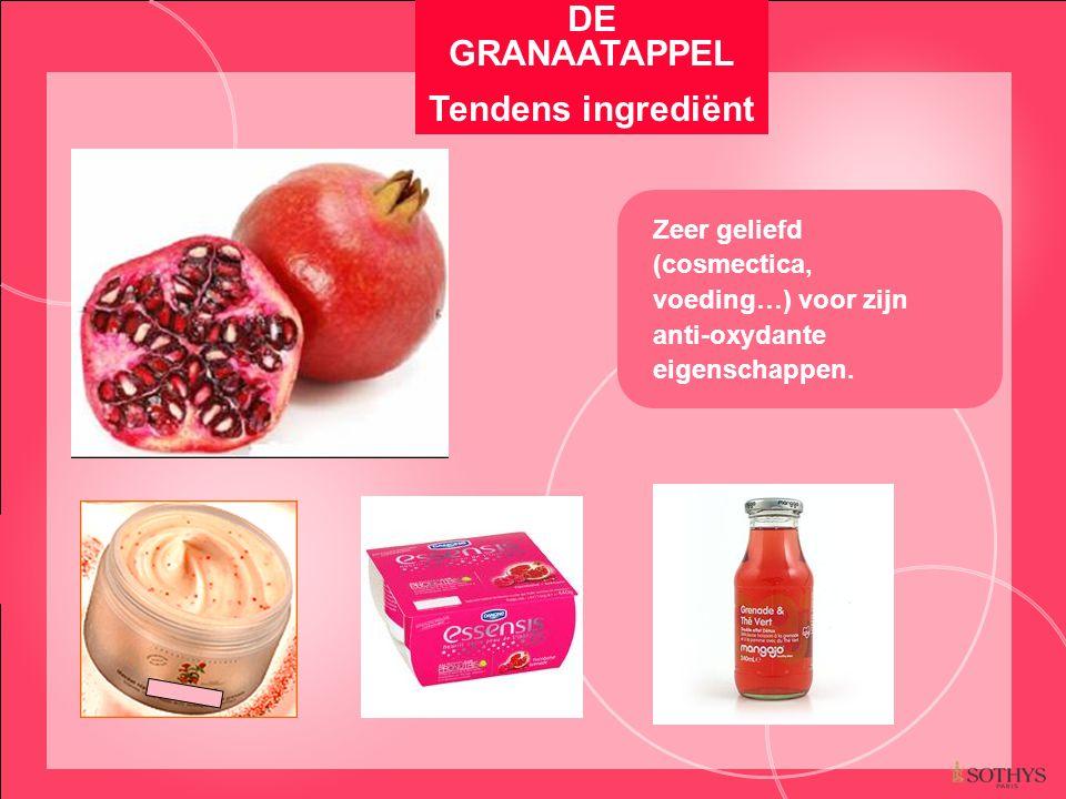 DE GRANAATAPPEL Tendens ingrediënt