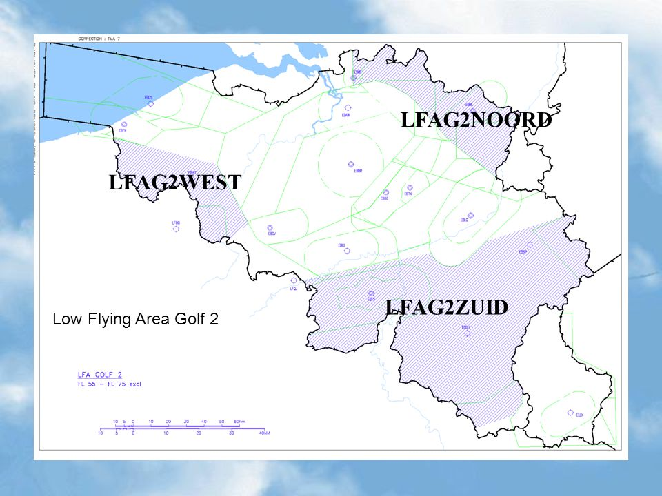 LFAG2NOORD LFAG2WEST LFAG2ZUID Low Flying Area Golf 2