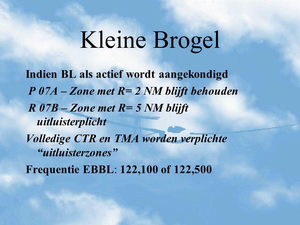 Kleine Brogel Indien BL als actief wordt aangekondigd