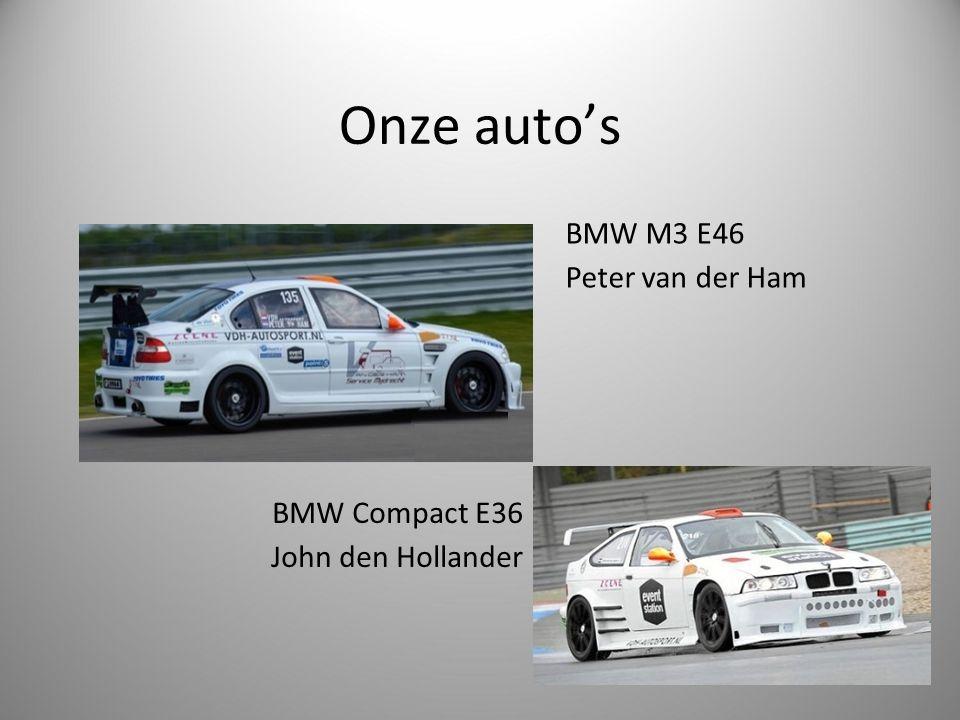 Onze auto's BMW M3 E46 Peter van der Ham BMW Compact E36