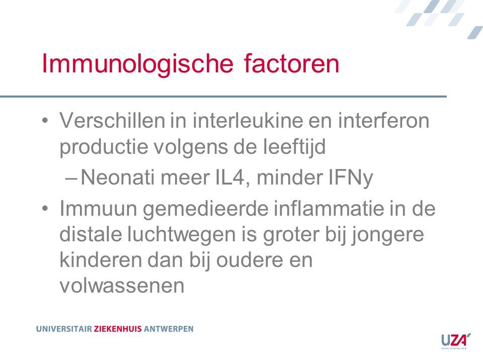 Immunologische factoren