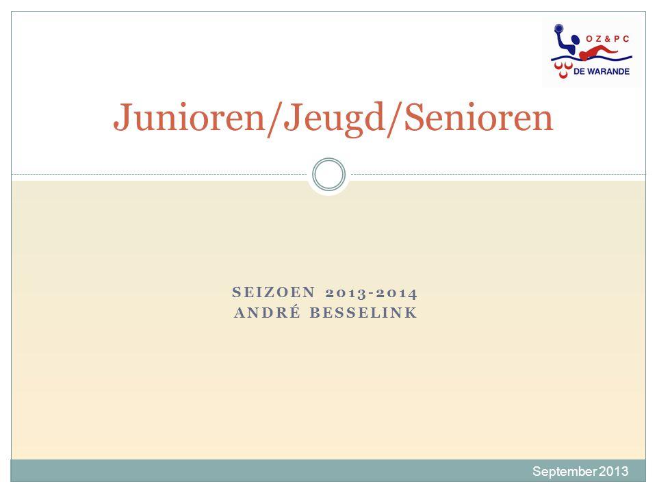 Junioren/Jeugd/Senioren