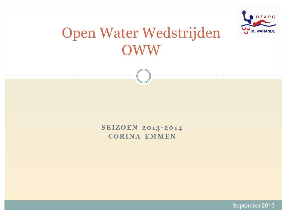 Open Water Wedstrijden OWW
