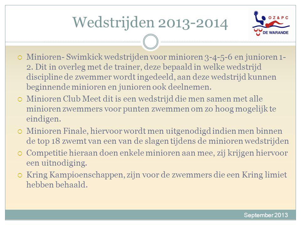 Wedstrijden 2013-2014