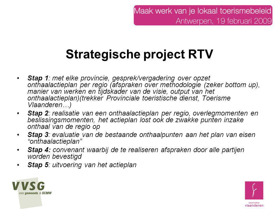 Strategische project RTV