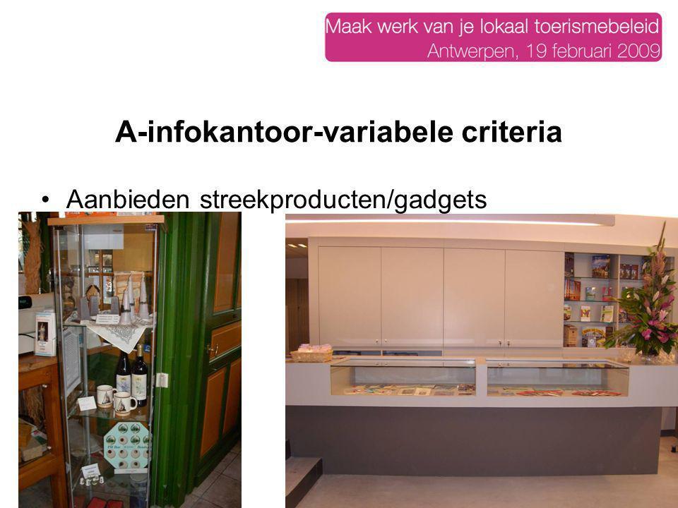 A-infokantoor-variabele criteria