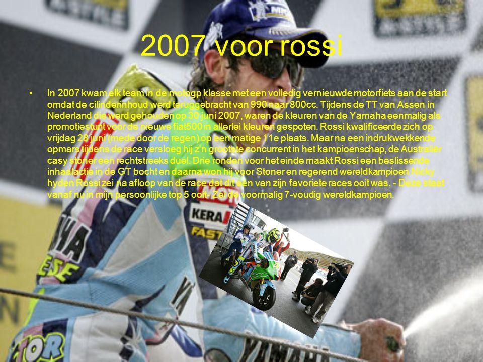 2007 voor rossi