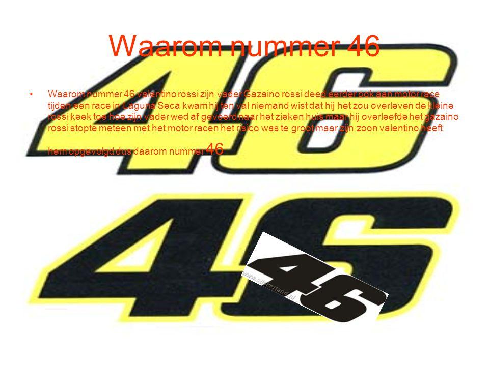 Waarom nummer 46