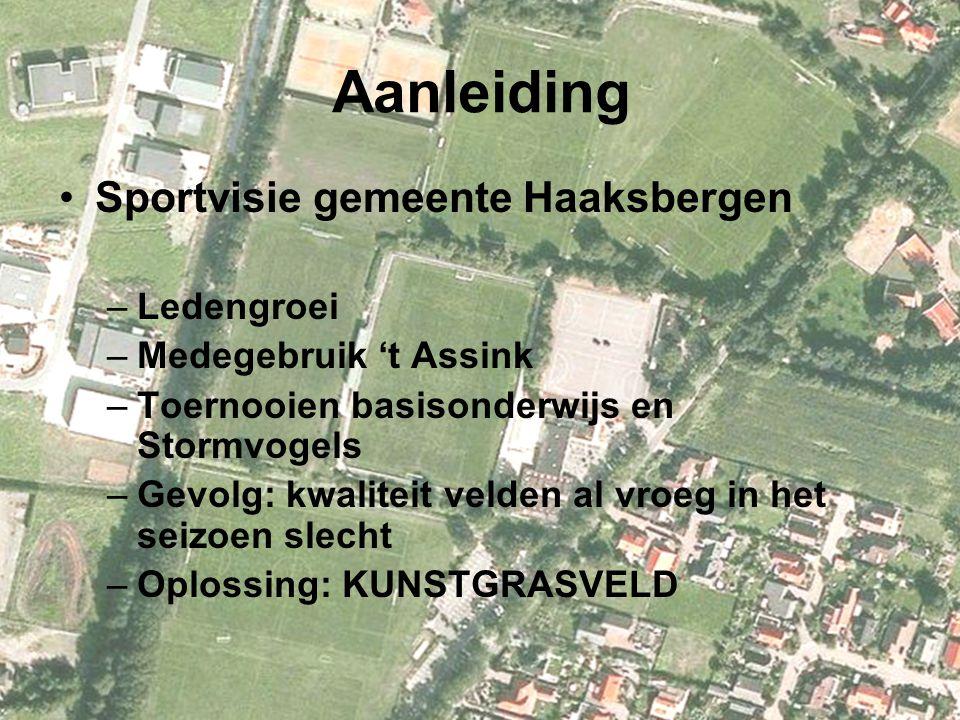 Aanleiding Sportvisie gemeente Haaksbergen Ledengroei