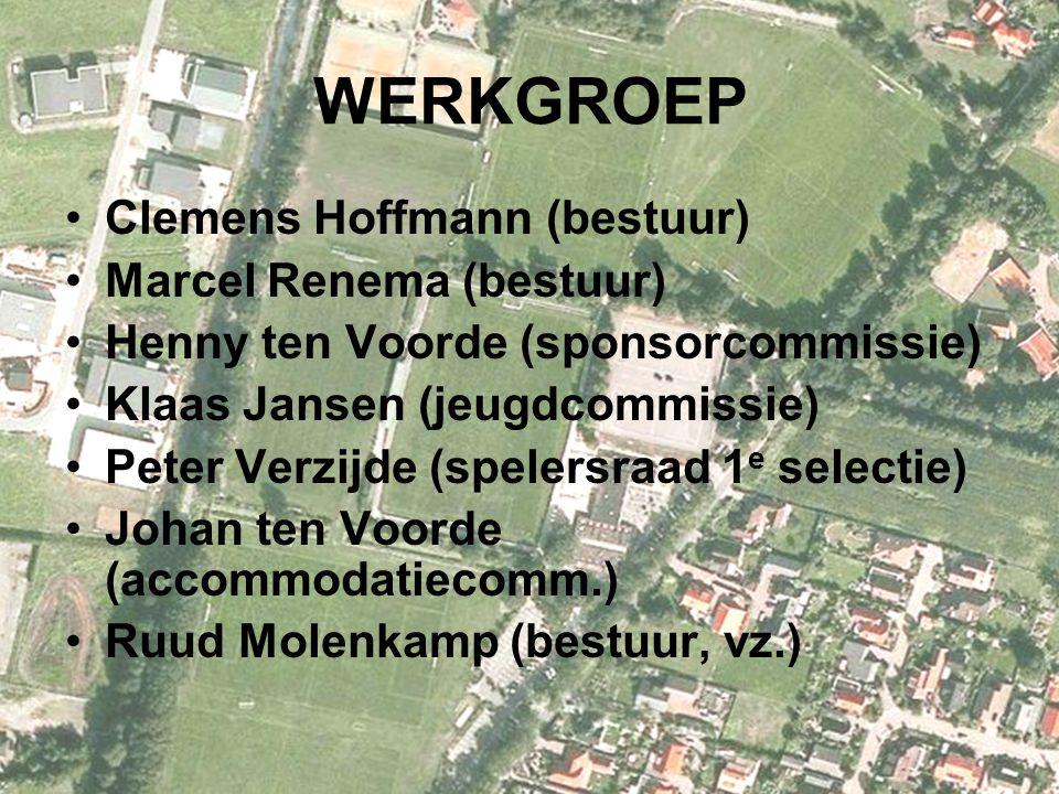 WERKGROEP Clemens Hoffmann (bestuur) Marcel Renema (bestuur)