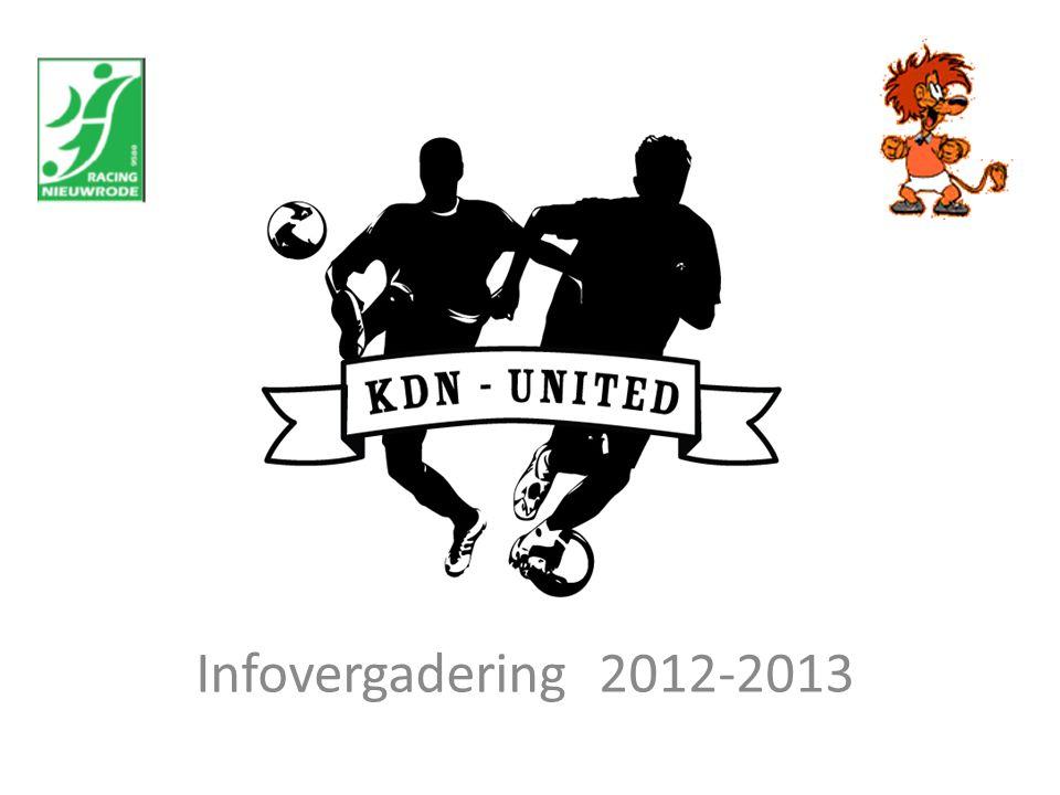 Infovergadering 2012-2013