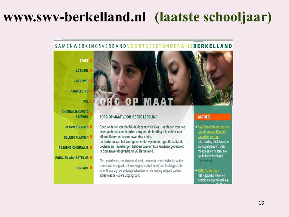www.swv-berkelland.nl (laatste schooljaar)