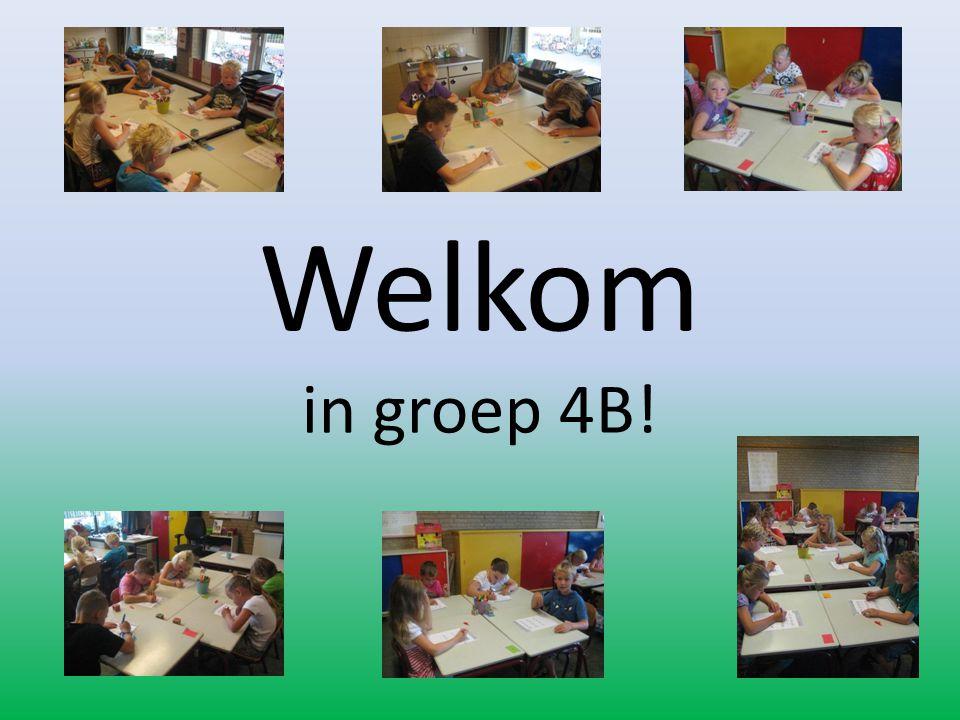 Welkom in groep 4B!